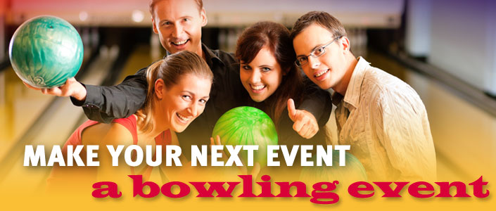 Have Your Next Bowling Event With Us